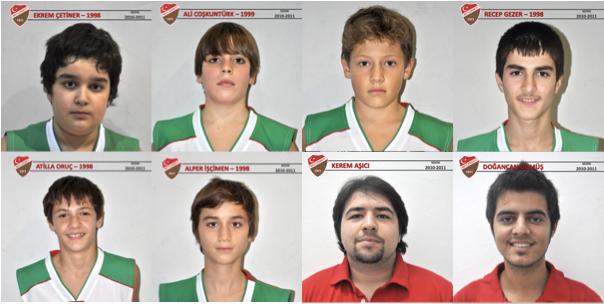 Beylerbeyi Basketbol 2010-2011 sezonu 1998 doğumlu küçük b takım