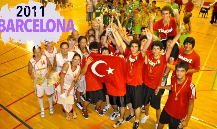 🇪🇸 2011 BARCELONA BASKETBOL ALTYAPI KULÜPLER ŞAMPİYONU BEYLERBEYİ 1996 TAKIMI