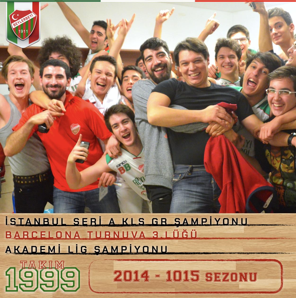 2014-2015 TBF SERİ A KLS ŞAMPİYONU BEYLERBEYİ YILDIZ A (1999)