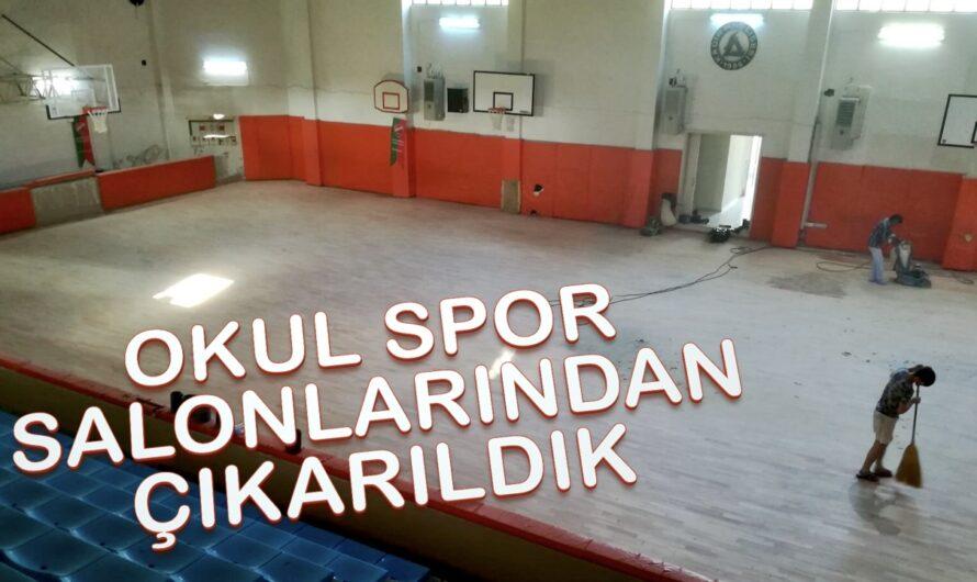 Çocuklarımız ve Spor Kulüpleri, Okul Spor Salonlarından Çıkarıldı