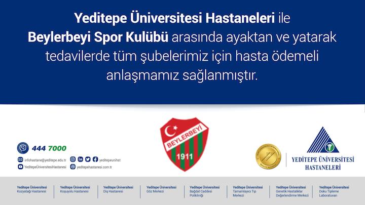 Yeditepe Üniversitesi Hastanesi Anlaşmamız Sağlandı